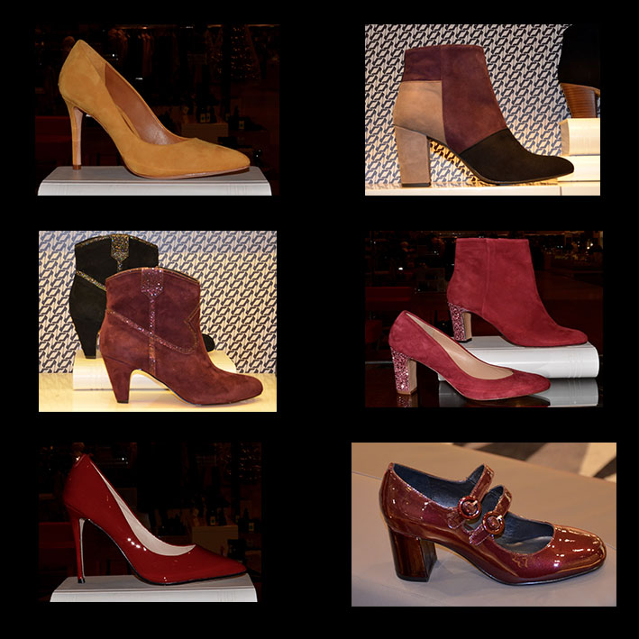Galeries Lafayette relooking chaussures